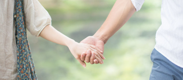 パパ活から恋人に発展したカップル